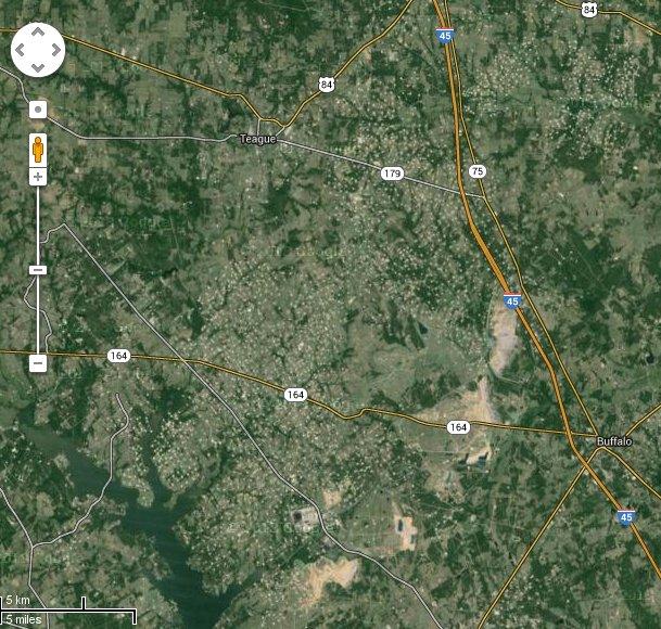 Exploitation de gaz ou pétrole non conventionnel au Texas